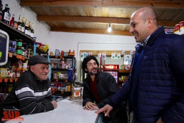 Pablo Alaniz recorrió Vatteone junto al Intendente de Quilmes Martiniano Molina