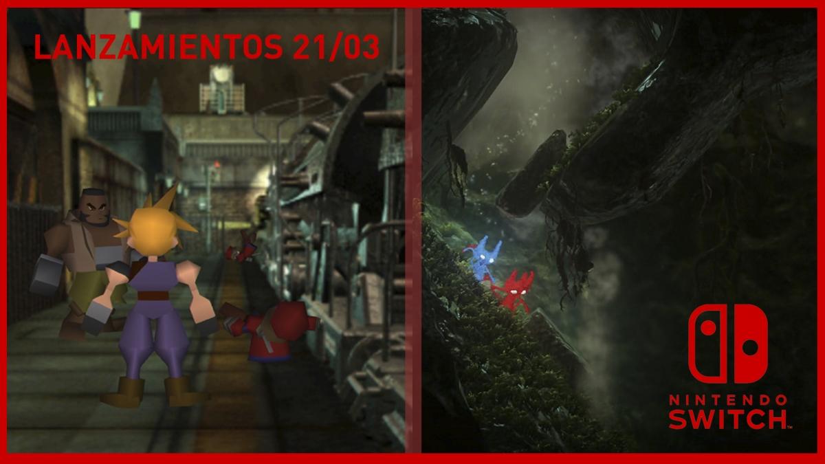 [Lanzamientos] Los nuevos juegos para consolas Nintendo del 21/3
