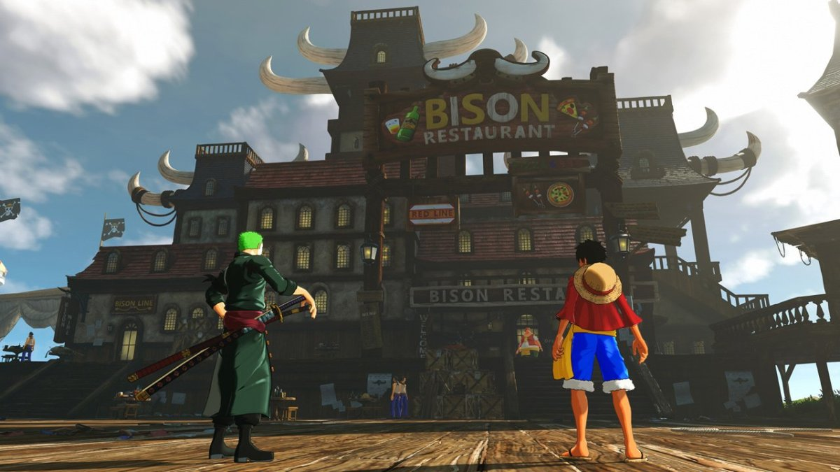 Llega el primer DLC de One Piece World Seeker
