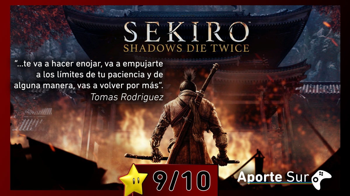 [Reseña] Sekiro: Shadows Die Twice (Xbox One)